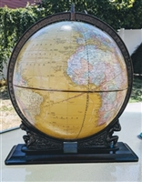 Crams Imperial 12 inch desk World Globe 1970