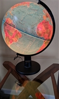 Scan Globe Denmark 1987 Illuminated lamp stand dec