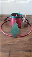 Heavy duty metal decorative Christmas Tree Stand