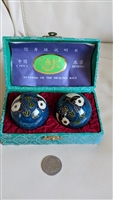 Chinese Panda Bear Chime health balls in box