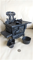Crescent cast iron salesman sample stove