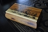 Cedar wood handmade storage box