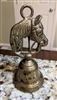 Brass Stallion dinner or call bell with horse head