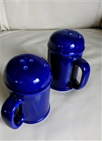 Japanese cobalt blue salt and pepper shakers