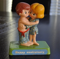 Berries collectible Happy Anniversary couple 1971