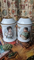 Napoleon Waterloo Porcelain de Luxe shakers