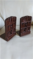 Bookshelves Bookends display in composite material