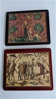 Vintage Lady Clare English hardboard placemats