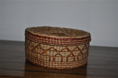small trinket bowl hand woven basket with decorative cross.htm round grass woven basket with lid  round grass woven basket with lid
