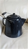 Huge Enamel campfire coffee cooking pitcher