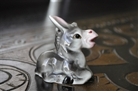 Porcelain Donkey Salt or Pepper shaker Japan