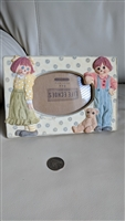 Raggedy Ann and Andy picture frame Life Echoes