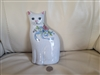 Porcelain Cat bookend paperweight Gustin Company