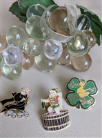 Bavarian beer st Patricks clergymen 3 pins