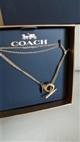 Coach genuine Open Circle design bracelet