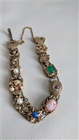 Early Goldette sliding charms amazing bracelet