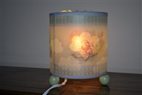 Winnie the Pooh rotating screen lamp