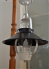 Vintage Kerosene lamp repurposed to electric light