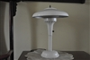 Art Deco metal mushroom table lamp original