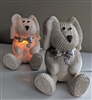 Pearl color set of two BEARS accent nightlights