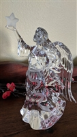 Lenox fine crystal ANGEL with star made in Germany