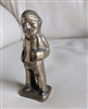 Solid brass sailor fisherman sea captain figure