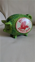 Boston Red Sox chalk plaster money piggy bank PIG