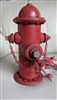 Fire Red Fire Hydrant Money Bank Piggy Bank saving