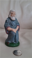 German vintage Joseph figure resin or plaster