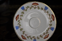 Edwin M.Knowles floral saucer.