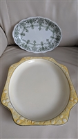 Staffordshire England and Ware Crooksville plates