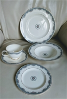 Royal Doulton Albany pattern porcelain set of 5