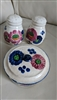REVELATION vintage Japanese porcelain set of 3