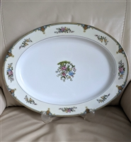 Noritake over 16 inch oval serving plate vivid