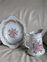 Old Foley James Kent Staffordshire pitcher plate