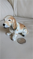 Wales porcelain sitting Beagle figurine Japan