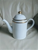 Porcelain coffee pot Fitz and Floyd Classique d'Or