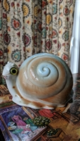 Lefton porcelain snail money bank 1950s