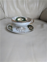 Royal Sealy Japanese lusterware teacup and saucer