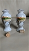 Porcelain shaker made in Japan Swan decor