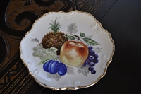 Dee Bee Co decorative fruit porcelain plate