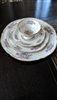 Castleton Rose porcelain set of 4 items USA