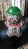 Japanese porcelain Gingerbread man shaker