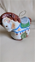 Salamander Pottery 1980s horse bell