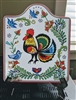 Rooster Folk Art tile by Essence of Europe EHG