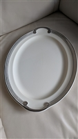 Taylor Smith Taylor platinum huge oval plate