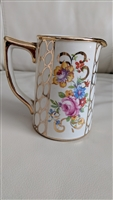 Rose and gold ovals Sadler English elegant creamer