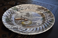 Yorkshire Ironstone dinner plate by Staffordshire