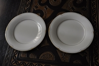 Two salad plates from Golden Cove Noritake