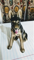 Occupied Japan German Shepherd figurine